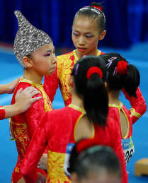 Chinese Gymnasts under age