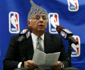 Commissioner David Stern Foiled