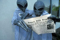 Extraterrestrials in Roswell, New Mexico