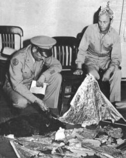 General Roger Ramsey - Roswell Crash debris