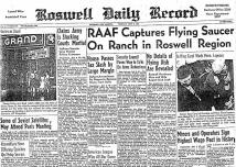 Roswell Daily Record - Flying Saucer Captured